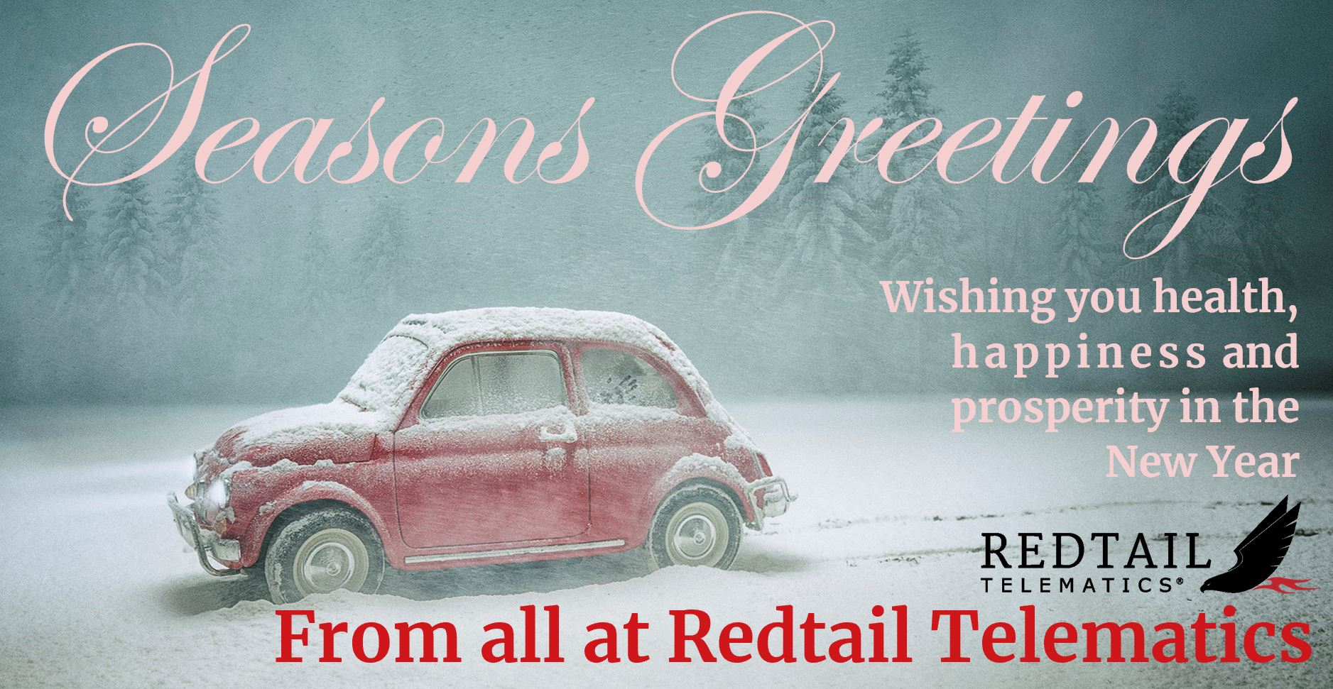 Redtail Telematics Christmas message 2019