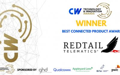 Redtail Telematics wins Cambridge Wireless Award
